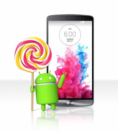 lg g3 android 5 lollipop