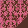 Pink Damask Fabric