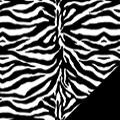 Zebra Fleece Fabric