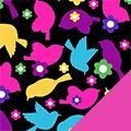 Bird Love Fleece Fabric