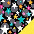 Bright Stars Fleece Fabric