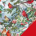 Cardinals Fleece Fabric