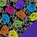 Roses Fleece Fabric