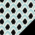 Art Deco Fleece Fabric