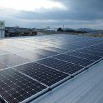 愛知県 K産業様 片流れ一面設置 シンプルレイ工法