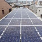 福岡県 H様会社建物 太陽光設置 陸屋根 「シンプル・レイ」工法