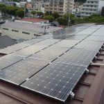 宮城県 T様集合住宅 太陽光設置 寄棟二面