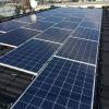 千葉県 公共住宅 太陽光設置 寄棟2面 「シンプル・レイ」工法
