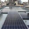 東京都 I様集合住宅 太陽光設置 陸屋根 「シンプル・レイ」工法