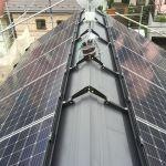 東京都 T様邸 太陽光設置 切妻二面 シンプルレイ工法