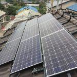 群馬県 M様邸 太陽光設置3面 寄棟 シンプルレイ工法