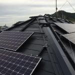 東京都 W様邸 太陽光設置 寄棟2面 シンプル・レイ工法