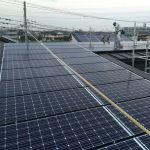 埼玉県 I様邸 太陽光設置 片流れ シンプル・レイ工法