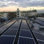 東京都 F様集合住宅 太陽光設置 シンプル・レイ工法