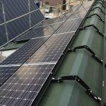 東京都 H様邸 太陽光設置 切妻 「シンプル・レイ」工法