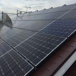 千葉県 I様邸 太陽光設置 片流れ 「シンプル・レイ」工法