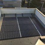 静岡県 M様邸 太陽光設置 陸屋根 「シンプル・レイ」工法