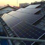 千葉県 E様邸 太陽光設置 寄棟 「シンプル・レイ」工法