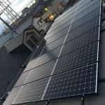 東京都 S様邸 太陽光設置 寄棟/陸屋根 「シンプル・レイ」工法