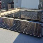 東京都 M様邸 太陽光設置 陸屋根 「シンプル・レイ」工法