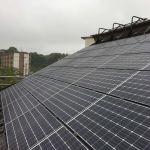 千葉県 K様邸 太陽光設置 切妻2面 「シンプル・レイ」工法