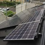 東京都 K様邸 太陽光設置 寄棟3面 「シンプル・レイ」工法