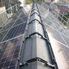 神奈川県 T様集合住宅 太陽光設置 切妻2面 「シンプル・レイ」工法