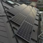 千葉県 H様邸 太陽光設置 寄棟3面 「シンプル・レイ」工法