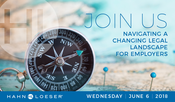Navigating a Changing Legal Landscape for Employers Invitation