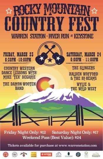 Rocky Mountain Country Festival 2018