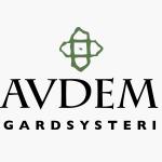 Logo til Avdem Gardsysteri