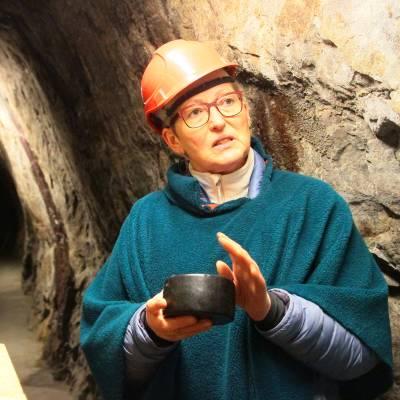 Bilde av Osteskatten i gruvene
