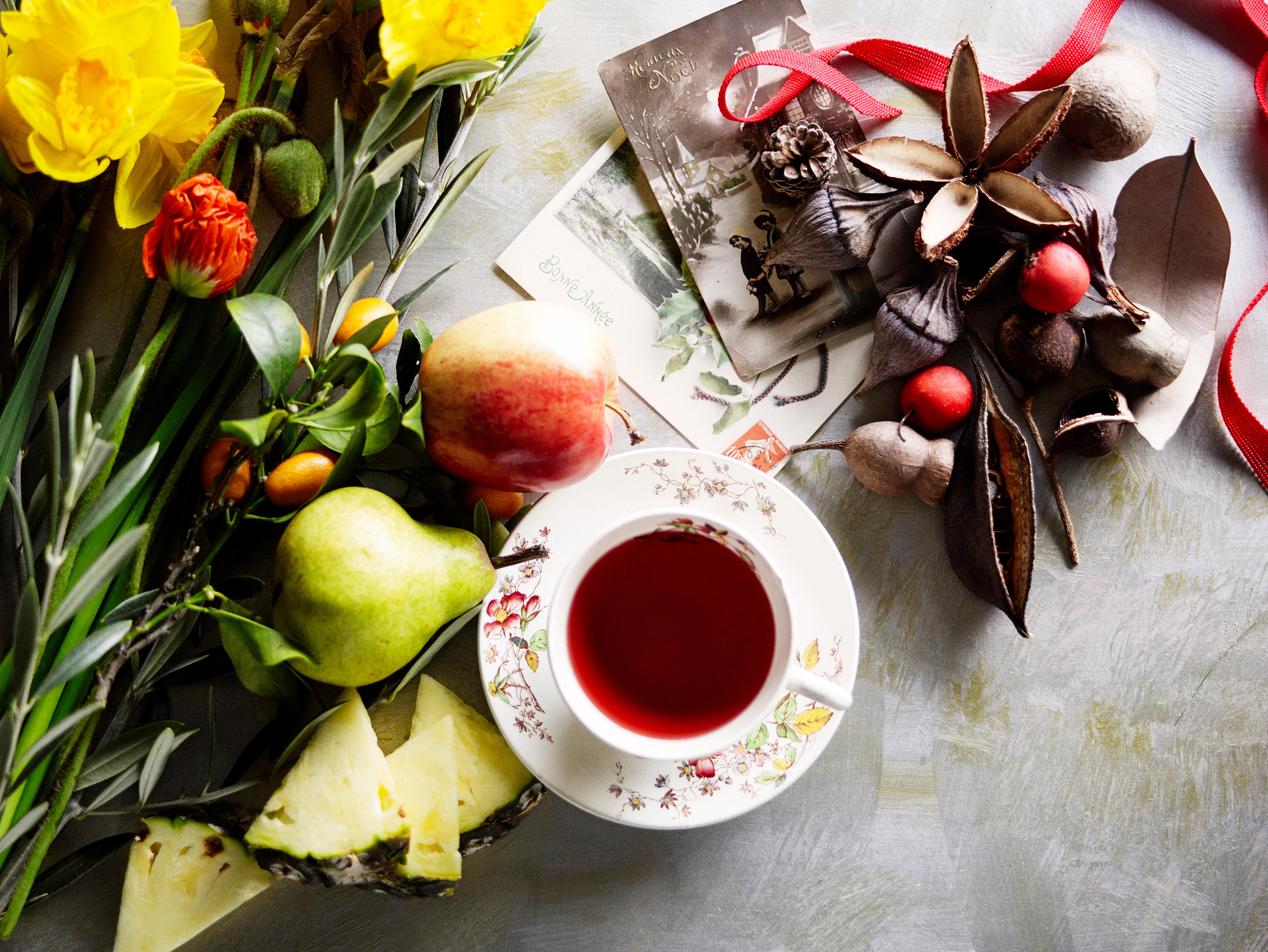 NEW No 84 Pear Blossom Organic Tea Tin by Ovvio Organics 2