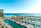 Ocean Front Ilikai Marina