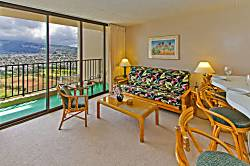 Waikiki Banyan Mountain 1BD on the 36th Floor A