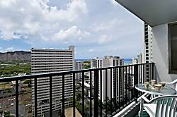 Waikiki Banyan Ocean 1BD on the 23rd Floor