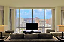 Trump Waikiki Hotel 3202 2br/2ba 1K1Q1Sf Diamond/O