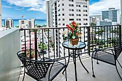 Waikiki Park Heights Ocean 1BD on the 16th Floor