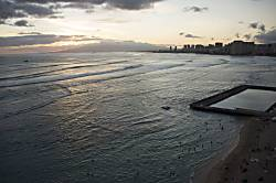 Sans Souci Beach & Kapiolani Park