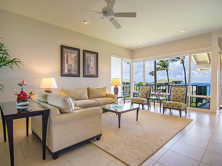 Kapalua Bay Villa 33B1 Gold Ocean View