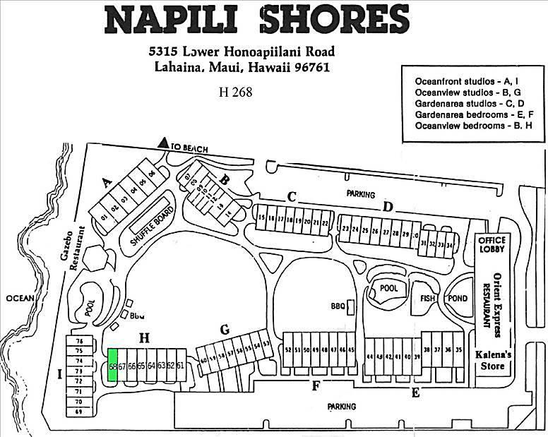 Napili Shores Unit