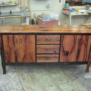 Mesquite cabinet