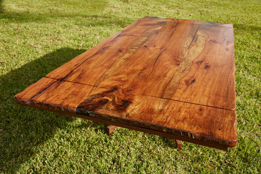 This Custom Pecan Dining Table Was Custom Built For A Couple In Fulshear. 8u0027