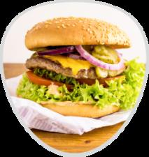 Gratisburger Cheeseburger