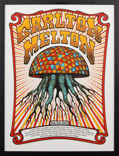Carlton Melton European Tour Poster