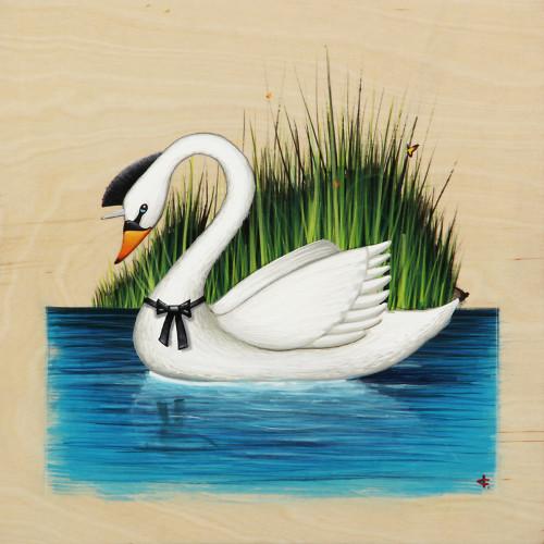 White Swanicorn