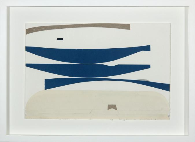Blue Boats (Three Skies)