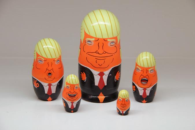 Donald Nesting Dolls