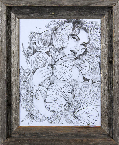 Finding Flora Sketch
