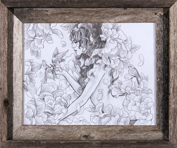 Flora N Fauna Sketch